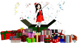 [MMD] 25 Presents Pack DL