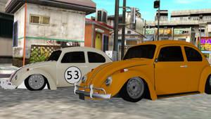 [MMD] Volkswagen (Beetles) DL by OniMau619