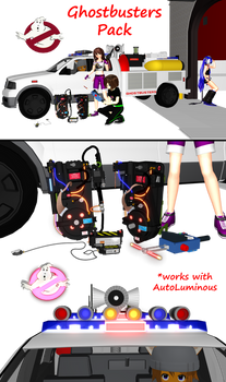 [MMD] Ghostbusters Pack DL