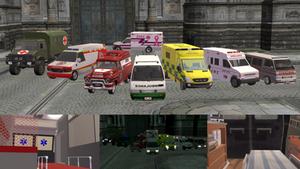 [MMD] Ambulance DL by OniMau619