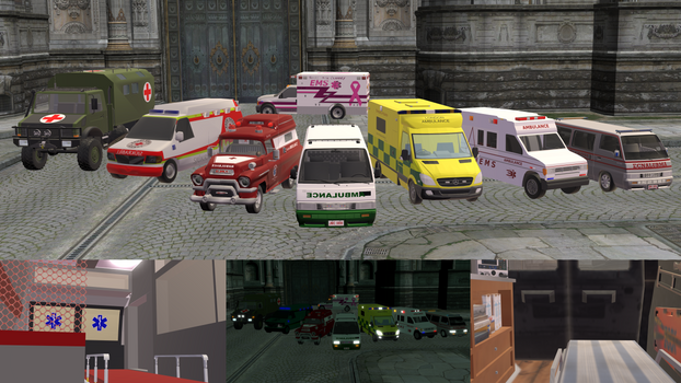 [MMD] Ambulance DL