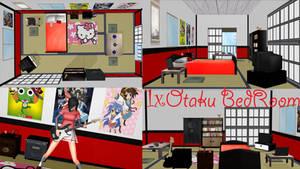 [MMD] x1's Otaku Bedroom DL
