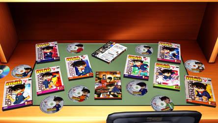 [MMD] Detective Conan DVDs DL