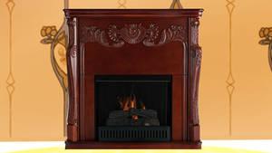 [MMD.DL] Fireplace