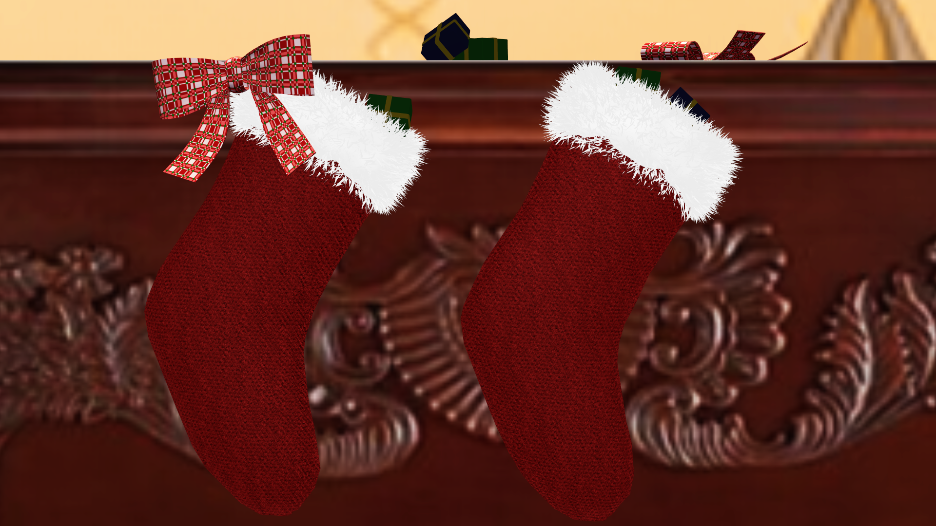 mmd dl christmas stockings by onimau619 on deviantart