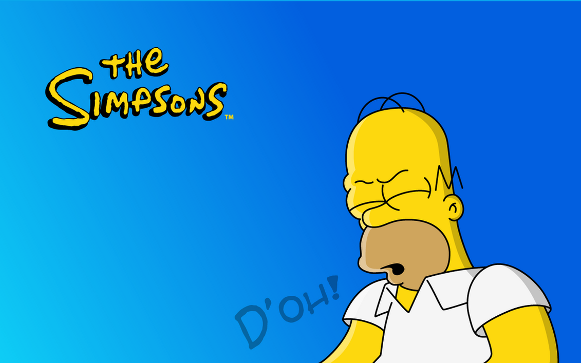 Homer D'oh! Wallpaper by Juliannb4
