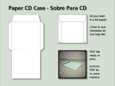 Paper CD Case - Sobre para CD
