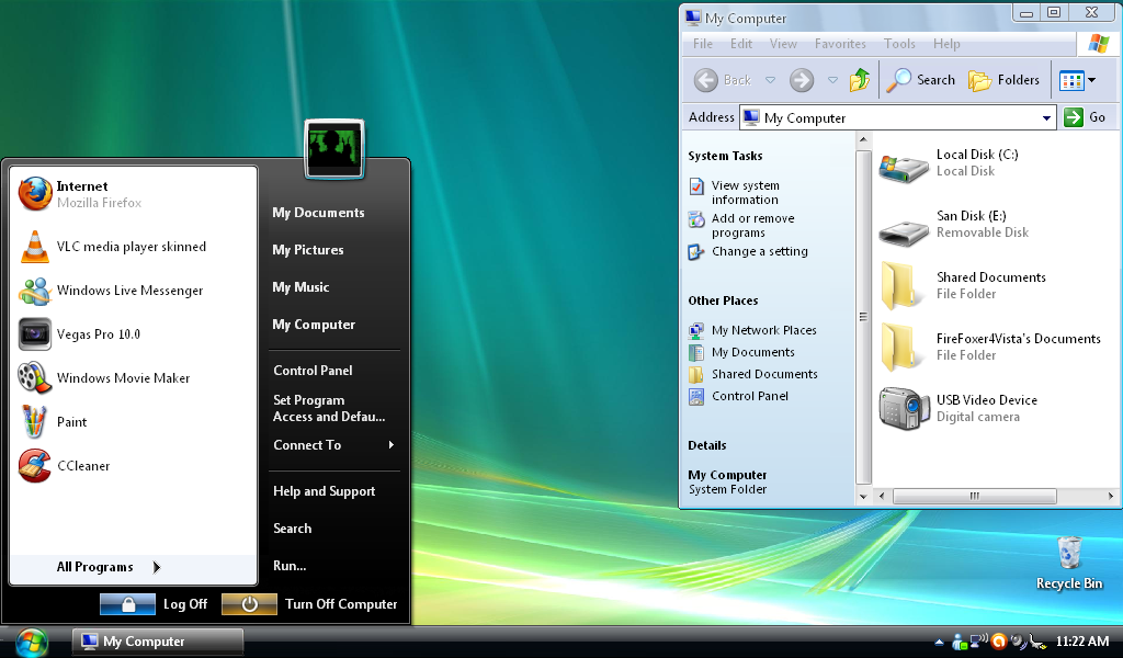Microsoft windows vista themes for xp free download