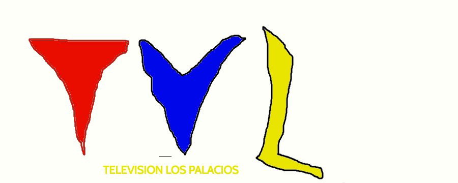 the Television Los Palacios logo from 1991-2000 by joseluislobatohumane