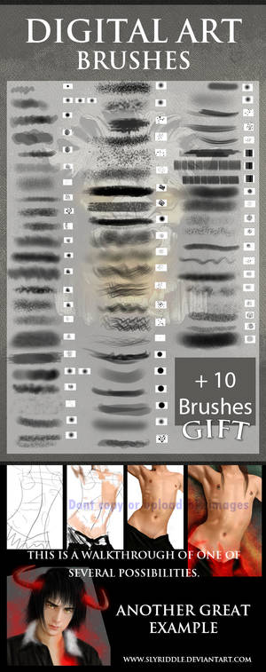 Digital Painting brushes