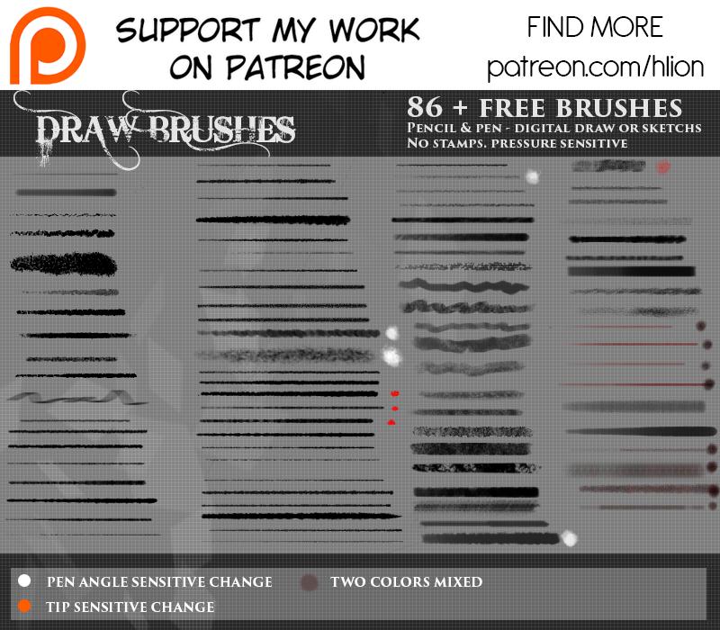 Draw brushes by epifaniaz