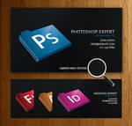 Black Designer Business Card