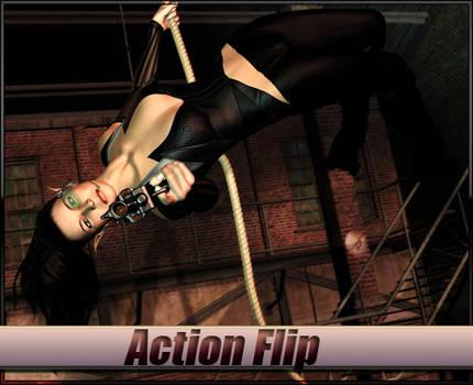 Action Flip Freebie Pose