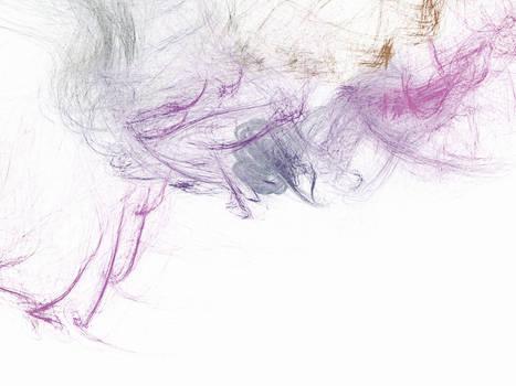 new life - splattered canvases