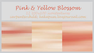 Pink et Yellow Blossom