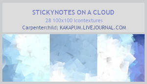 StickyNotesOnACloud - 100x100 icontextures