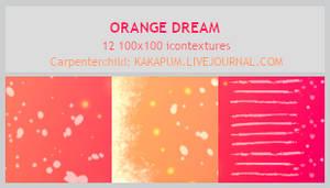 OrangeDream - 100x100 icontextures