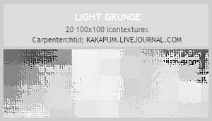 LightGrunge - 100x100 textures by carpenterchild-l