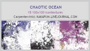 Chaotic Ocean - 100x100 Textures