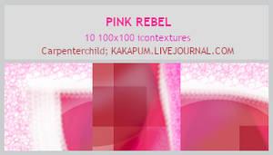 PinkRebel -100x100 icontextures - Kakapum@lj