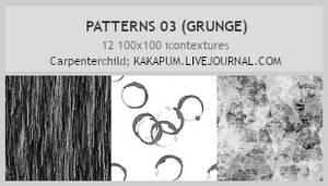 Patterns 03 - 100x100icontextures (Kakapum@lj)