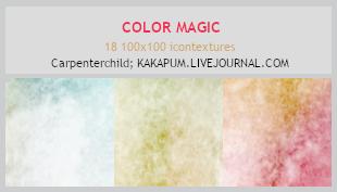 ColorMagic - 100x100 icontextures (Kakapum@lj) by shiruji