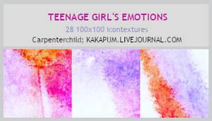 Teenage Girl's Emotions (Kakapum@lj)