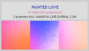 PaintedLove - 100x100 icontextures (Kakapum@lj)