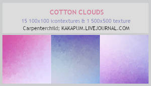 CottonClouds - 100x100icontextures (Kakapum@lj)