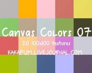 CanvasColours 07 - 100x100 textures (Kakapum@lj)