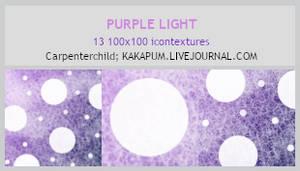 Purple Light - 100x100 textures (Kapakum@lj)