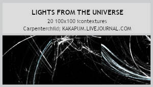 Lights from the Universe - 100x100 textures (Kakap