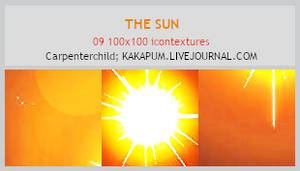 The Sun - 100x100 textures (Kakapum@lj)