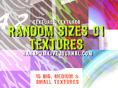 Random Sizes 01 - textures - Kakapum@lj by shiruji