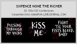 Sixpence none the Richer - textures (Kakapum@lj) by shiruji
