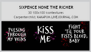 Sixpence none the Richer - textures (Kakapum@lj)