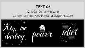 Text 06 - 100x100 icontextures (Kakapum@lj)