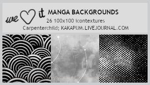 Manga backgrounds - 100x100 icontextures (kakapum@