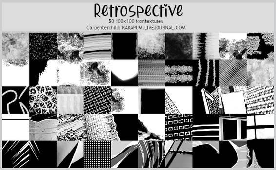 Retrospective -100x100 icontextures (Kakapum@lj)