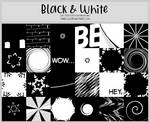 Black and White -100x100 icontextures