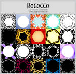 Rococco Frames -100x100icontextures by shiruji