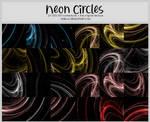 Neon Circles -100x100icontextures