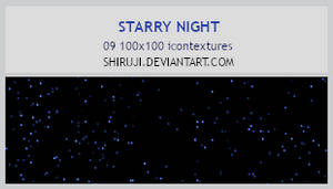 Starry Night -100x100icontextures