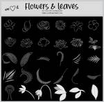 Flowers and Leaves -100x100icontextures