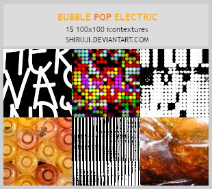 Bubble Pop Eletric -100x100icontextures