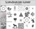 Scandinavian Winter -100x100icontextures