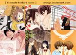 Shoujo Love (6 Icons) by shiruji