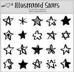 Illustrated Stars -100x100icontextures