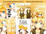 Vocaloid: Rin-Len: (6 icons)