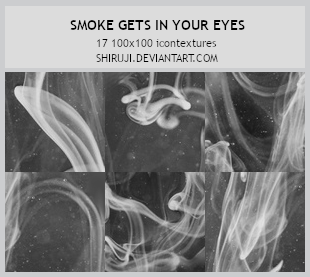 Smoke gets in your eyes -100x100icontextures